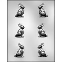 """2"""" 3D Bunny Chocolate Mold"""