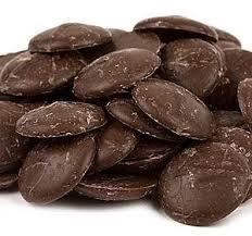 Merckens Dark Chocolate Coating Wafers - 2 lbs