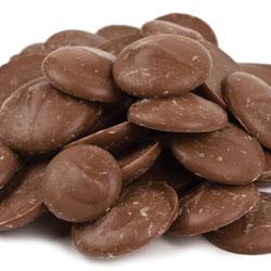 Merckens Milk Chocolate Coating Wafers - 1 lb