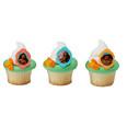 Moana Voyagers Cupcake Rings