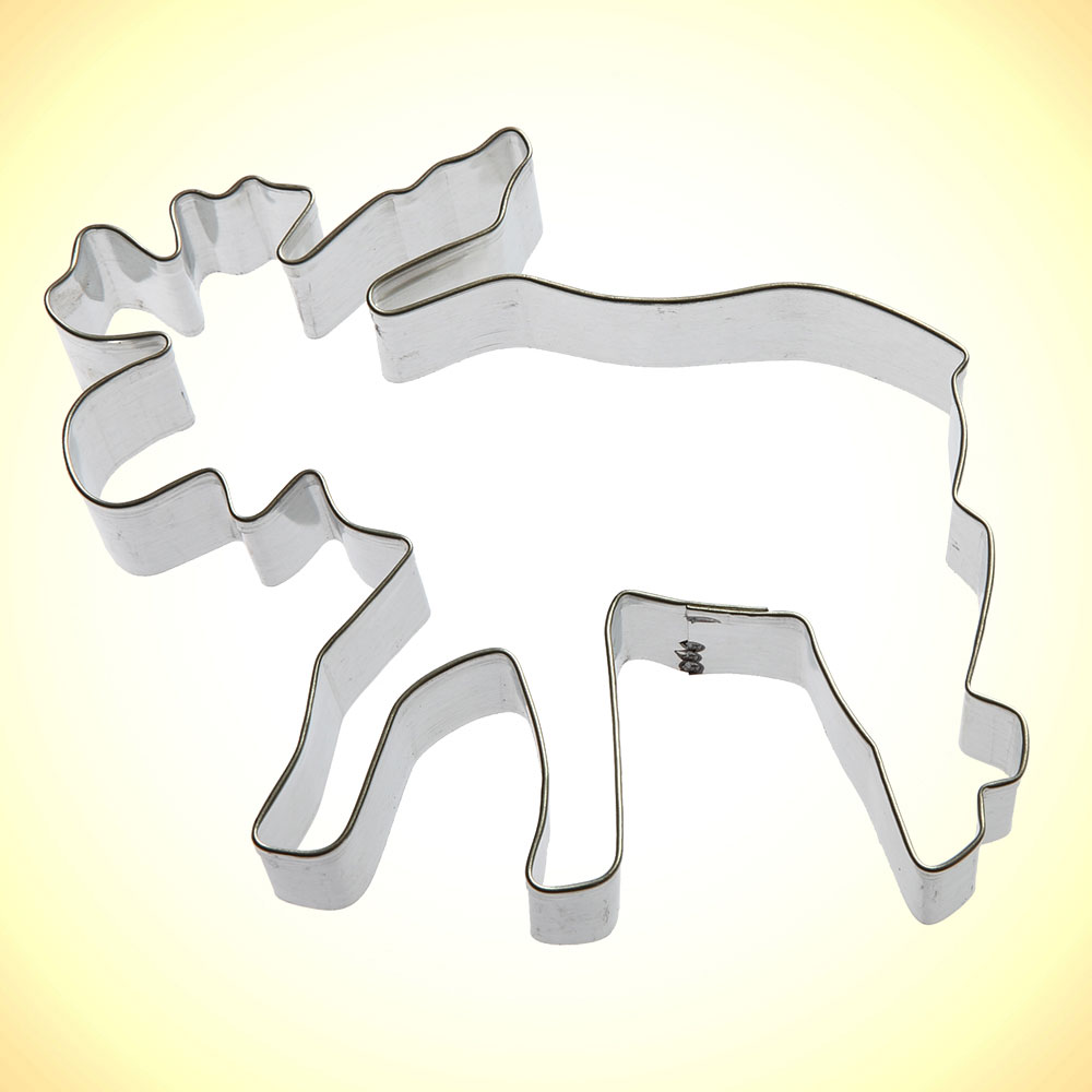 "5"" Moose Cookie Cutter"