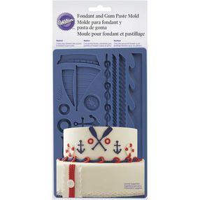 Nautical Fondant and Gum Paste Mold