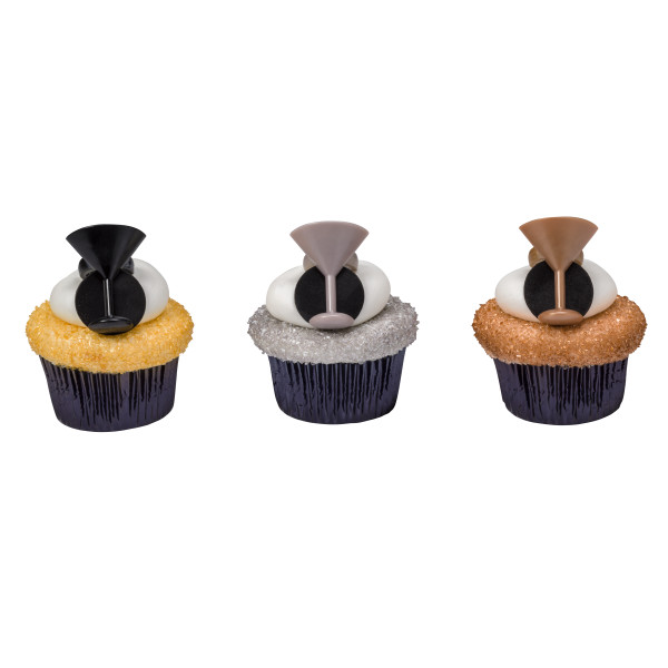 Cheers to the New Year Cupcake Rings