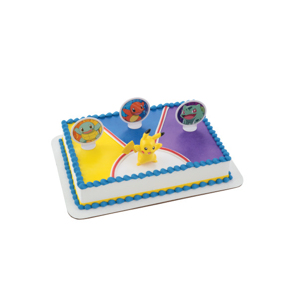 Pokemon Cake Topper