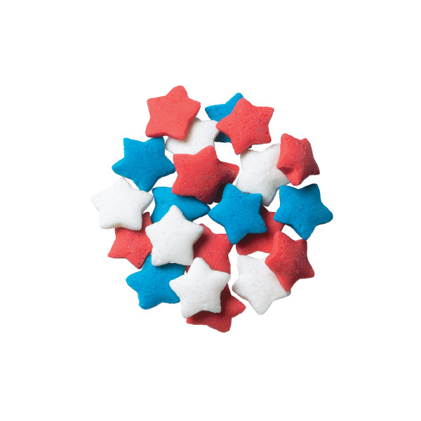 Star - Red White and Blue Star Quins