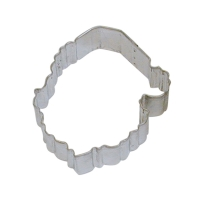 Santa Face Cookie Cutter - 3.75""