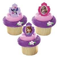 Sophia the First Cupcake Rings