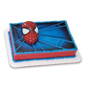 Spider-Man Light Up Eyes Cake Topper