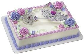 Princess Tiara Cake Topper Kit