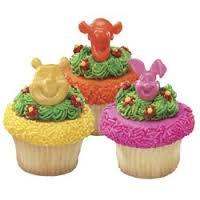 Winnie the Pooh Cupcake Rings