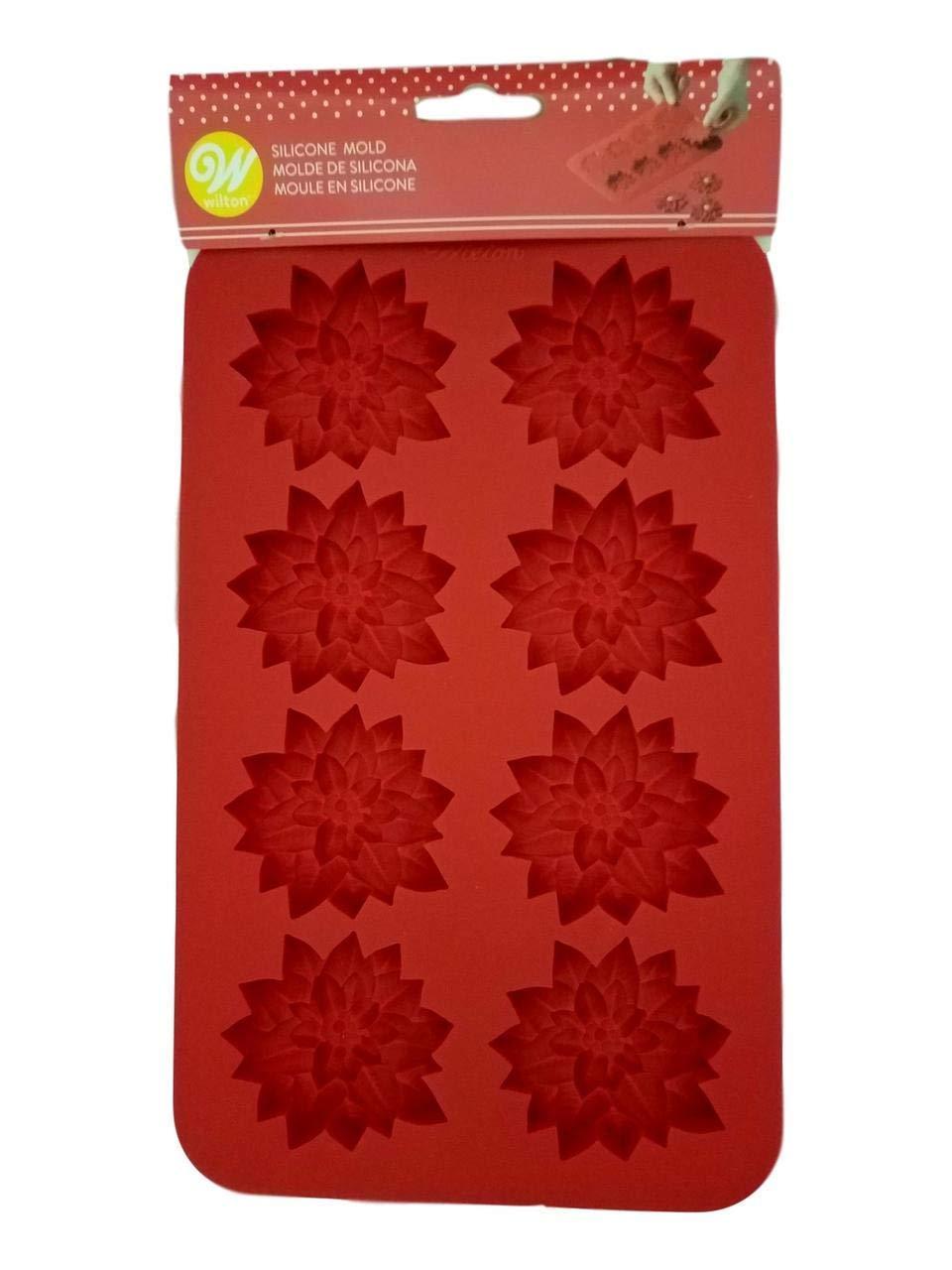 Poinsettia 8 cavity