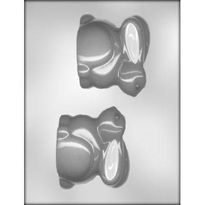 """Bunny 3 1/2"""" 3D Chocolate Molds"""