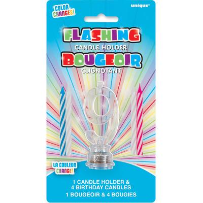 9 Flashing Candle