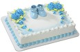 Blue Booties Cake Topper
