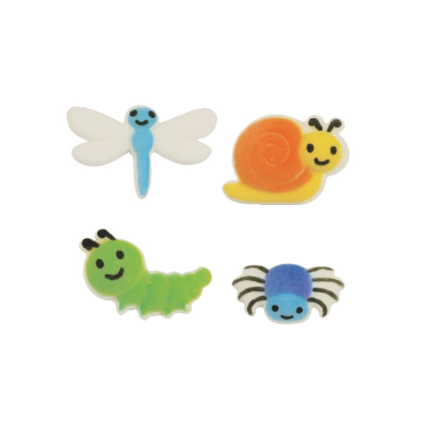 Cute as a Bug Sugar Decorations