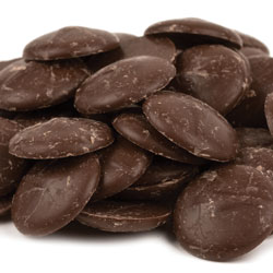 Merckens Dark Chocolate Coating Wafers - 1 lb