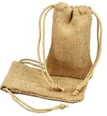 Burlap favor Bags