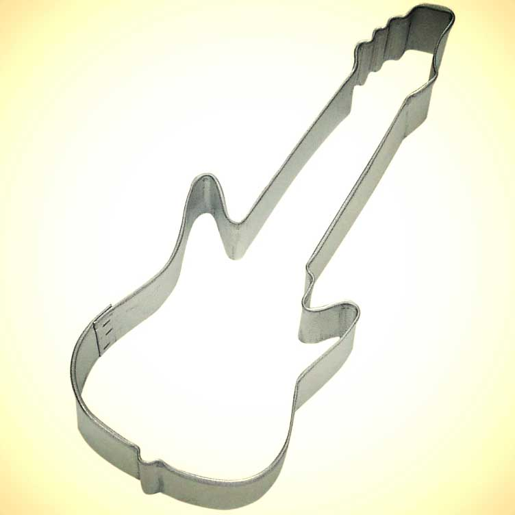 Electric Guitar Cookie Cutter