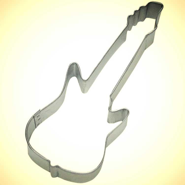 Electric Guitar Cookie Cutter