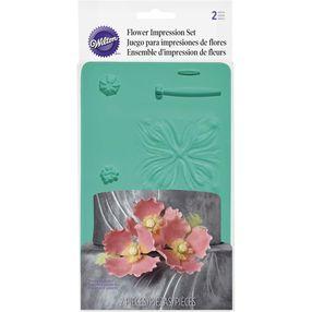 Flower Impression Fondant and Gum Paste Mold