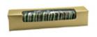 """Gold Mint/Golf Ball Die Cut Box w/Window  7-3/4"""" x 1-5/8"""" x 1-5/8"""""""