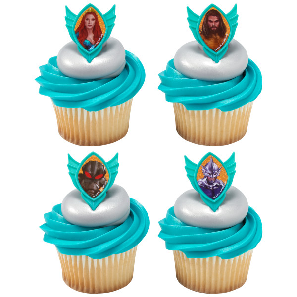 Aquaman Cup Cake Topper