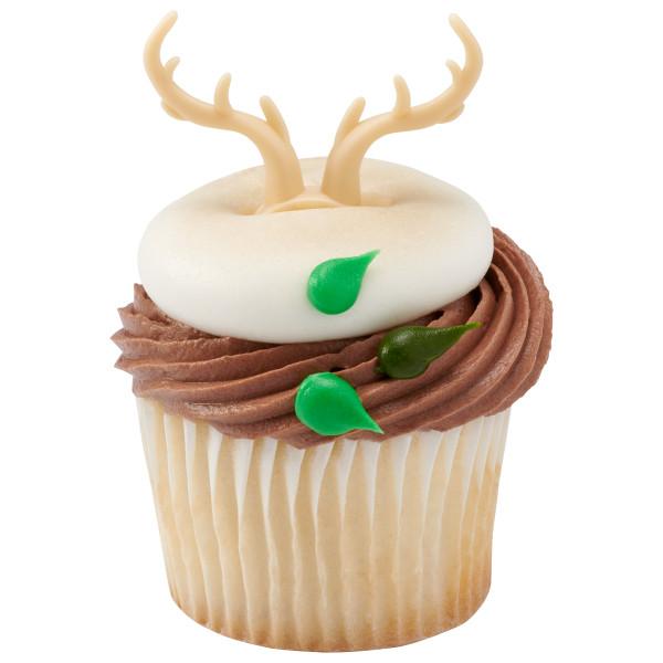 Antler Cupcake topper