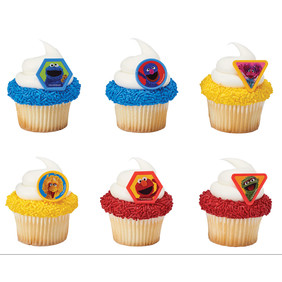 Sesame Street Giggle Together Cupcake Rings