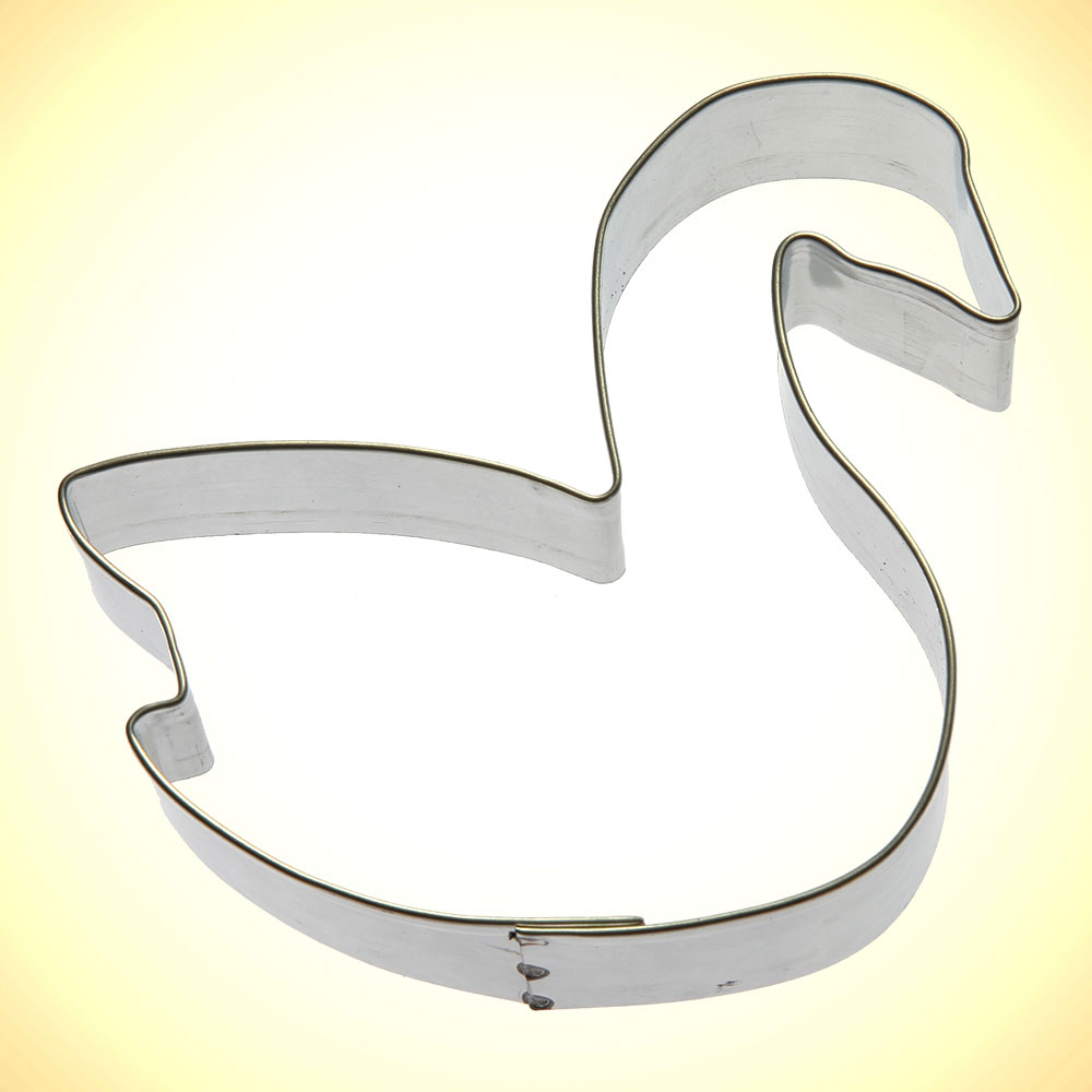 "Swan Cookie Cutter 3.5"""