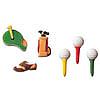 Golf Asst. Sugar Decorations