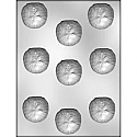"1 3/4"" Sand Dollar Chocolate Mold"