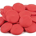 Red (Vanilla) Coating Wafers - 1 lb