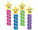 Stars Chunky Candle Set