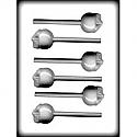 "1 1/2"" Apple Sucker Hard Candy Mold"