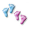 Baby Feet Sugar Decorations