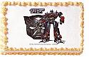 Transformers Optimus Prime Edible Image
