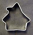 Mini Gingerbread House Cookie Cutter