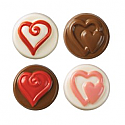 Hearts Cookie Candy Chocolate Mold