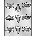 Space Assortment Chocolate Mold