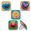 Elmo and Friends Cupcake Rings