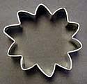 "3"" Sunflower Cookie Cutter"
