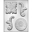 Baroque Gumpaste Mold