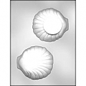 "4 1/4"" 3D Clam Shell Chocolate Mold"