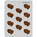 Double Mr./Mrs. Heart Chocolate Mold