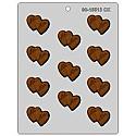 Double Mr./Mrs. Heart Chocolate Mold