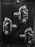 Muscle Man Weight Lifter Chocolate Mold