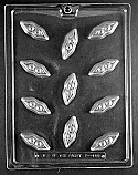 Peas In A Pod Chocolate Mold