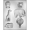 Zoo/Safari Chocolate Mold