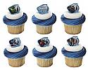 Avengers Assemble Cupcake Rings