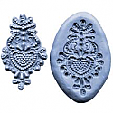 Silicone Bead Medallion Mold